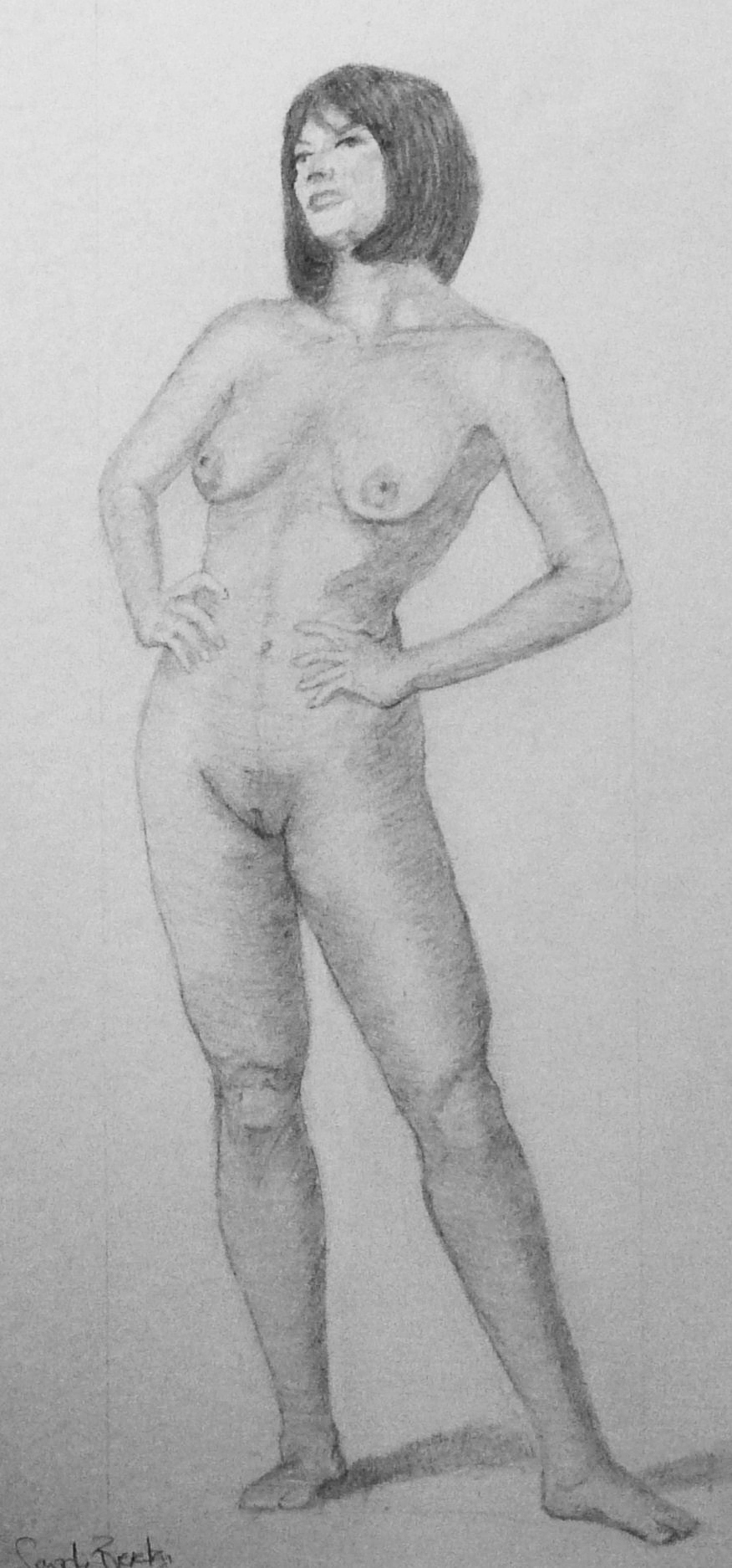 Drawing nude pic nudes drunk girl