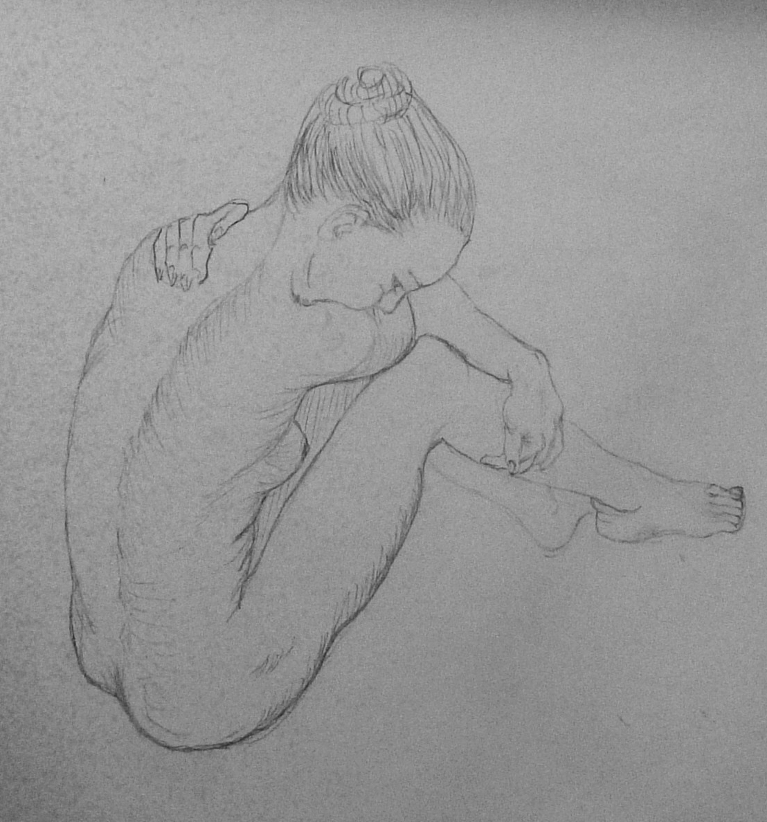 Nude Female Drawings 95